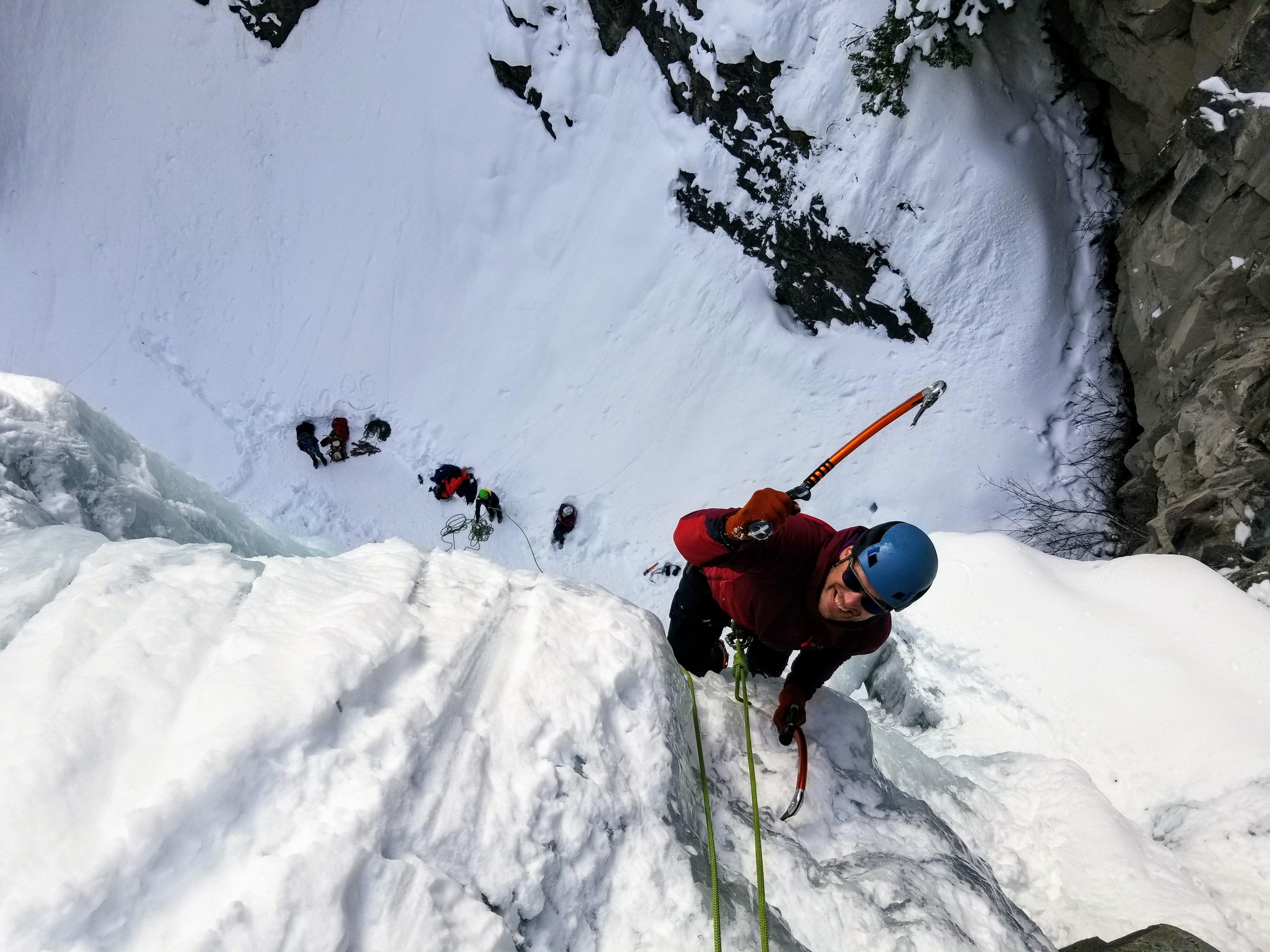 ice climb Europe adventure, zipline snowdonia wales adventure experience localbini biniblog travel adrenaline experiences Europe thrill local authentic